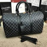 Дорожная сумка Softsided Luggage Louis Vuitton Keepall Damier Graphite