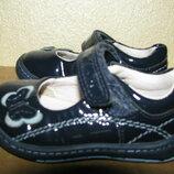 Туфлі брендові шкіряні Clarks Оригінал р.3 F стелька 11,5 см
