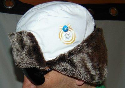 Спортивная олимпийская зимняя шапочка шапка бельгия Procter&Gamble.57-59