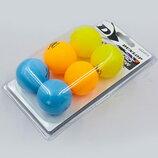 Набор мячей для настольного тенниса Dunlop Nitro Glow 679213 6 мячей в комплекте