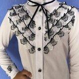 Шикарная эксклюзивная блуза для девочки