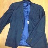Новый темно-синий школьный пиджак Голландия рост 164-176 см
