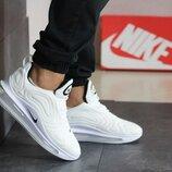 Супер цена. Как Оригинал. Бесплатная доставка. Кроссовки Nike Air Max 720 белые KS 1174
