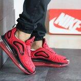 Супер цена. Как Оригинал. Бесплатная доставка. Кроссовки Nike Air Max 720 красные KS 1175
