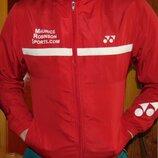 Спортивная фирменная курточка мастерка олимпийка кофта yonex йонекс s-m .унисекс