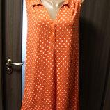 удлиненная блузка - туника M&Co в идеальном состоянии L - XL