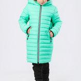 Детская зимняя куртка-пуховик X-Woyz, 34 , мятный