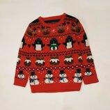 Весёлый новогодний свитер