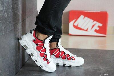 Мужские кроссовки Nike Air More Money белые 8222