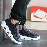 Мужские кроссовки Nike Air More Money темно синие 8223