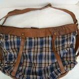 Стильная и вместительнаяя сумка bershka