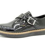 Туфли для девочки Турция Черные Размеры 30, 31, 32, 33, 34, 35