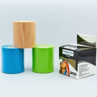 Кинезио тейп эластичный пластырь Kinesio tape 0842-7,5 длина 5м, ширина 7,5см