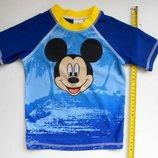 Детская пляжная футболка для купания Микки Маус Disney
