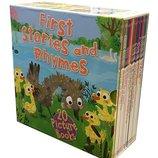 20 книг на английском языке для детей First Stories and Rhymes