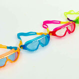 Очки для плавания детские полумаска Speedo Biofuse Rift Junior 138434 от 6 до 14 лет 4 цвета