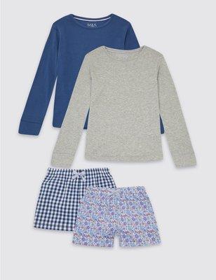 классные пижамки для девочек от Marks&Spencer из Англии на 7-8,9-10 лет
