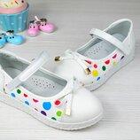 Туфли балетки на девочку. 35-й и 36-й размер в наличии