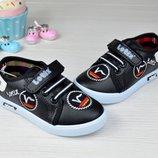 Туфли кеды слипоны с вышивкой. р-р 22, 23
