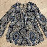 Блуза принт бренд free quent размер м