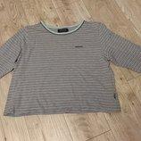 Полосатая футболка топ размер 14-16 от maine maine new england
