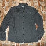 рубашка котон мальчику 12-13 лет Ребел сток большой выбор одежды 1-16 лет