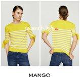 Джемпер свитерок тонкой вязки хлопок от mango