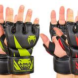 Перчатки для смешанных единоборств MMA Venum 8355 размер M-XL, 2 цвета