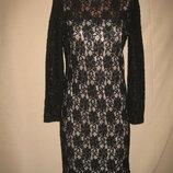 Красивое кружевное платье Зара р-рS