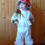 Прокат детский карнавальный костюм грибочек,гриб, мухомора, мухомор на праздник осени Киев