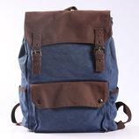 Большой рюкзак ля ноутбука, спорта, городской, повседневный-синий цвет