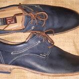 9р -30.5 с носка кожа туфли Fretz men ширина подошвы 11 верх и внутри кожа идеальное состояние
