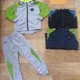 Трикотажный спортивный костюм для мальчиков р.98-122