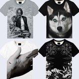 Модные футболки 3D Большой выбор