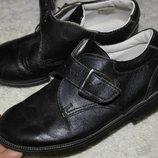 Stups мальчику туфли кожа натуральная стелька 19см