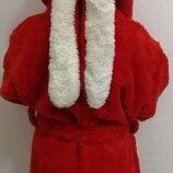 Теплый мягкий детский махровый халат с ушками. Есть цвета. Акция