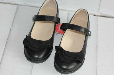 Классические кожаные туфли для школы Тм Lapsi р 31-35. Новые в наличии.