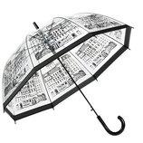 Стильный прозрачный Зонт с принтом города