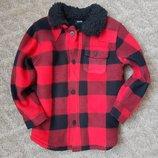 Флисовая рубашка 5-6 лет Джорж 3-4года 98-104рост