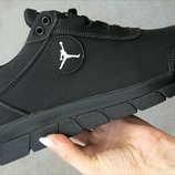 Мужские кожаные кроссовки большого размера 46,47,48,49,50 Джордан Jordan гигант Новинка