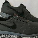 Мужские кожаные кроссовки Nike air max гигант Мужские кожаные кроссовки большого размера