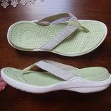 шлепанцы Crocs 7W 25см