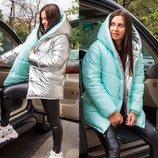 Хит Зима 2019 Куртка зефирка двухсторонняя