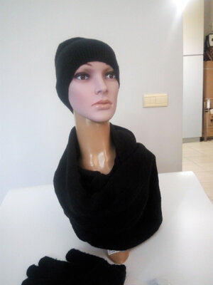 Акция Комплект шапка, шарф, перчатки C&A
