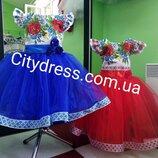 платье вышиванка украинское вналичии