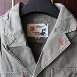 Піджак, тренч, жакет світло-оливковий витровка, вітровка, куртка