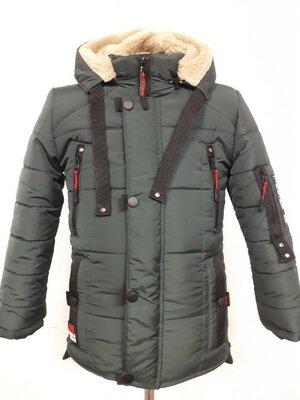Продано: Зимняя куртка для мальчика М-17