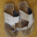 Шльопанці-Вєтнамки шкіряні розмір 41 стелька 28 см Walk Still