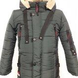 Зимняя куртка для мальчика М-17