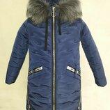 Зимняя куртка для девочки Д-15